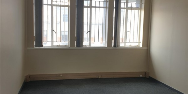 Centrally located open plan office